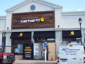 Stationary Awnings with Graphics